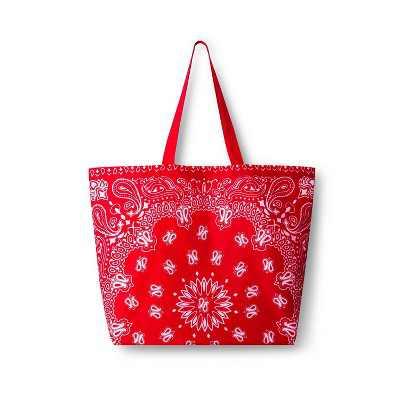 Bandana Reusable Shopping Bag Red - Levi's® x Target