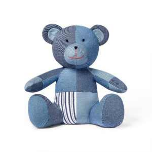 Patchwork Teddy Bear Blue - Levi's® x Target