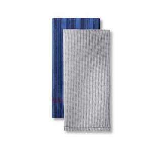 2pk Striped Kitchen Towel Set White/Navy - Levi's® x Target