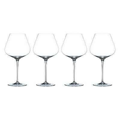 Riedel 98072 Nachtmann ViNOVA 27 Ounce Dishwasher Safe Crystal Balloon Burgundy Red Wine Glass (4 Pack)