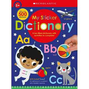 My Sticker Dictionary: Scholastic Early Learners (Sticker Book) - (Paperback)