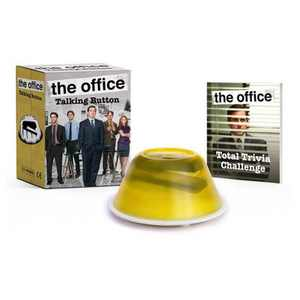 The Office: Talking Button - (Rp Minis) by Andrew Farago & Shaenon K Garrity (Paperback)