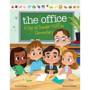 The Office: A Day at Dunder Mifflin Elementary - by Robb Pearlman (Hardcover)