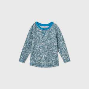 Toddler Boys' Raglan T-Shirt - Cat & Jack Teal