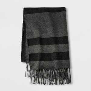 Men's Striped Holiday Oblong Scarf - Goodfellow & Co One Size