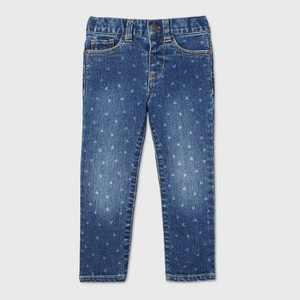 Toddler Girls' Heart Skinny Jeans - Cat & Jack Medium Wash