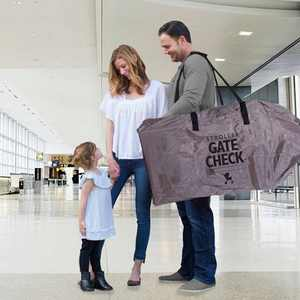 J.L. Childress Deluxe Gate Check Bag for Single & Double Strollers