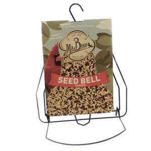 "Home & Garden 9.5"" Seed Bell Hanger Songbirds Bird Feed Mr Bird  -  Bird And Wildlife Food"