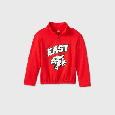 Girls' Disney High School Musical East High Sweatshirt - Red XL Plus