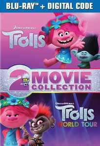 Trolls / Trolls World Tour 2-Movie Collection (Blu-ray + Digital Copy)