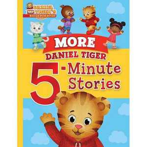 More Daniel Tiger 5-Minute Stories (Daniel Tiger's Neighborhood) (Hardcover)