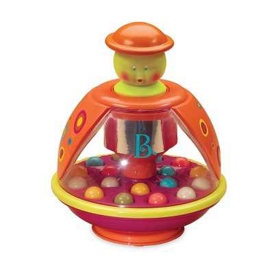 B. toys Ladybug Ball Popping Toy Poppitoppy