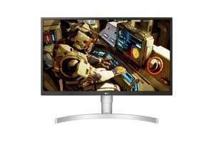 "LG 27UL550-W 27"" 4K UHD Gaming LCD Monitor - 16:9"