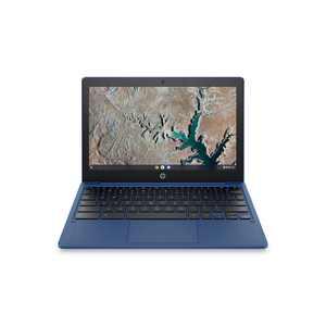 "HP 11.6"" Chromebook, Mediatek MT8183, 4GB RAM, 64GB emmc, Indigo Blue, Chrome OS, 11a-na0015wm"