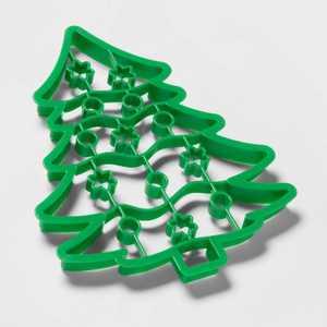 Plastic Giant Tree Cookie Cutter Green - Wondershop™