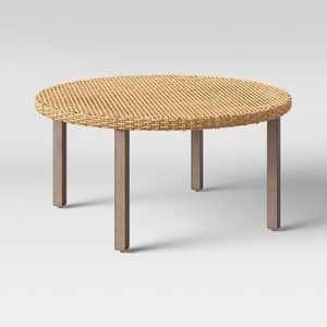 Eliot Closed Weave Patio Coffee Table - Threshold™