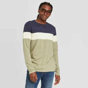 Men's Athletic Fit Long Sleeve Lyndale T-Shirt - Goodfellow & Co