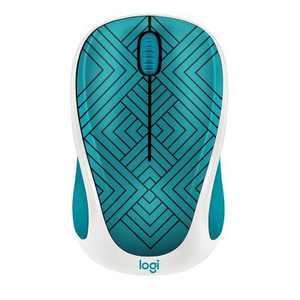 Logitech Mouse - Teal Maze (M317)