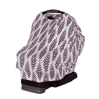 J.L. Childress 4-in-1 Multi-Use Cover Black Feathers