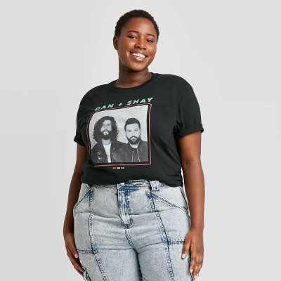 Women's Dan + Shay Short Sleeve Graphic T-Shirt - Black
