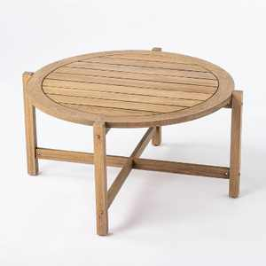 Bluffdale Wood Patio Coffee Table - Threshold™ designed with Studio McGee