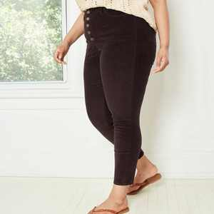 Women's Plus Size High-Rise Skinny Pants - Universal Thread