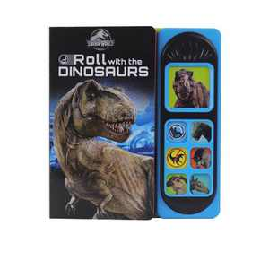 Jurassic World Roll With The Dinosaurs - Little Sound (Board Book)