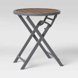 Bryant Faux Wood Patio Folding Accent Table - Project 62™
