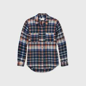 Women's Long Sleeve Button-Down Flannel Shirt - Universal Thread