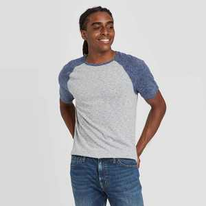 Men's Regular Fit Novelty Crew Neck T-Shirt - Goodfellow & Co Gray