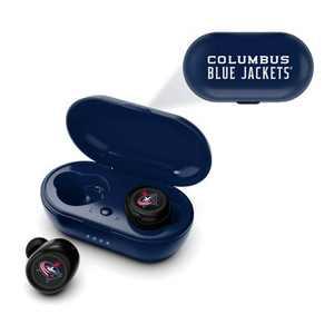 NHL Columbus Blue Jackets True Wireless Earbuds