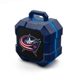 NHL Columbus Blue Jackets LED Shock Box Speaker