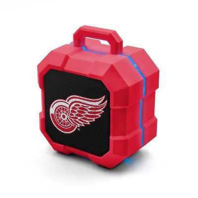 NHL Detroit Red Wings LED Shock Box Speaker