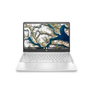 """HP 14"""" Touchscreen Chromebook Laptop with Chrome OS - Intel Processor - 4GB RAM Memory - 64GB Flash Storage - Mineral Silver (14a-na0037nr)"""