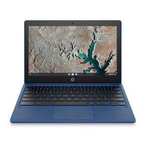 "HP 11.6"" Touchscreen Chromebook Laptop with Chrome OS - MediaTek Processor - 4GB RAM Memory - 32GB Flash Storage - Indigo Blue (11a-na0036nr)"