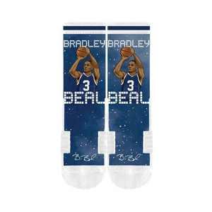 NBA Washington Wizards Bradley Beal Galaxy Socks