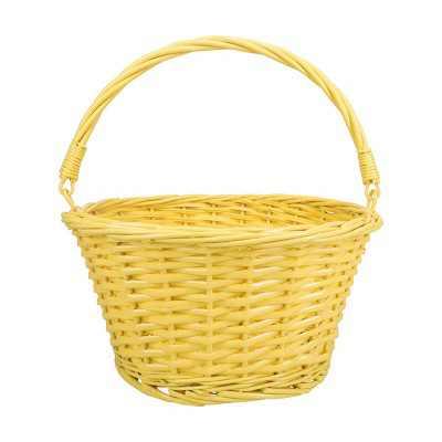 "12"" Willow Easter Basket Yellow - Spritz™"