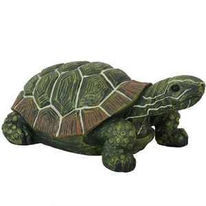 "10"" Terrance the Tortoise Indoor-Outdoor Statue - Sunnydaze Decor"