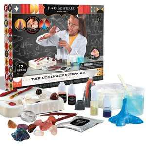 FAO Schwarz Ultimate Science Kit - 17pc