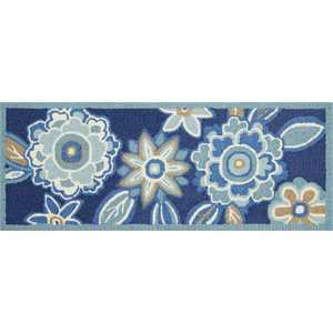 "Waverly Wav27 WIH02 Jubilee Indoor Mat - Multicolor 1'8""X4'4"""