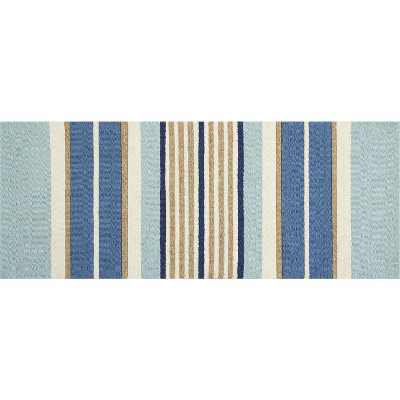 "Waverly Wav27 WIH06 Millington Indoor Mat - Blue 1'8""X4'4"""