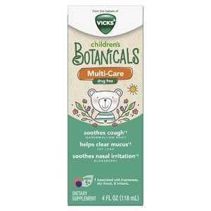 Vicks Children's Botanicals Multi-Care Dietary Supplement - 4 fl oz