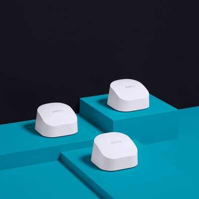 Amazon eero 6 Mesh Wi-Fi 6 System (3-pack)