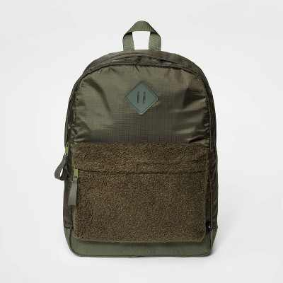 Boys' Pocket Backpack - art class™ Black