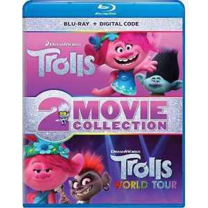 Trolls / Trolls World Tour 2-Movie Collection (Blu-ray + Digital)