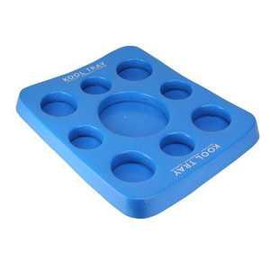 """TRC Recreation Super Soft 20"""" Kool Floating Beverage Holder & Game Board, Blue"""