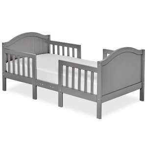 Dream On Me 3-in-1 Convertible Toddler Bed - Steel Gray