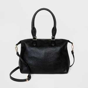 Soft Mid Size Satchel Handbag - A New Day