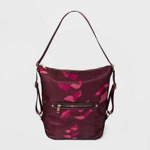 Studded Convertible Hobo Handbag - A New Day