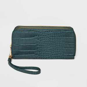 Women's Double Zip Wallet - A New Day